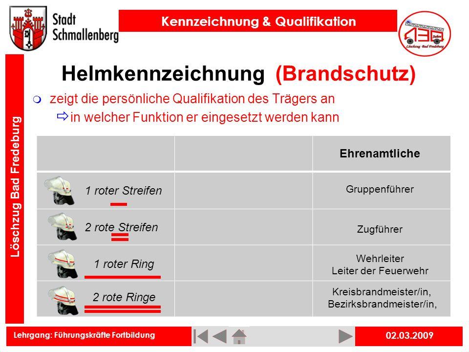 Helmkennzeichnung (Brandschutz)