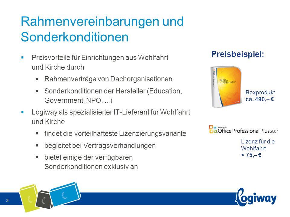 Rahmenvereinbarungen und Sonderkonditionen