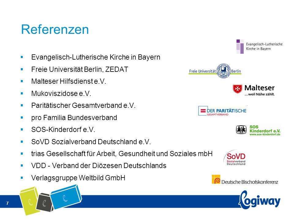 Referenzen Evangelisch-Lutherische Kirche in Bayern