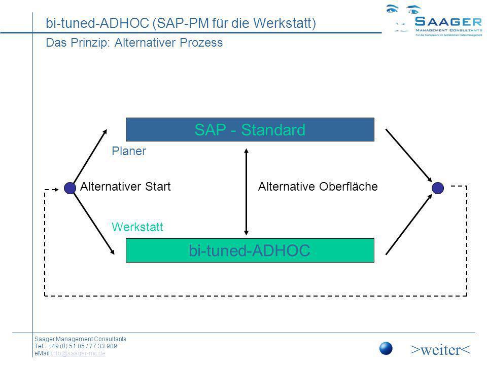 Das Prinzip: Alternativer Prozess