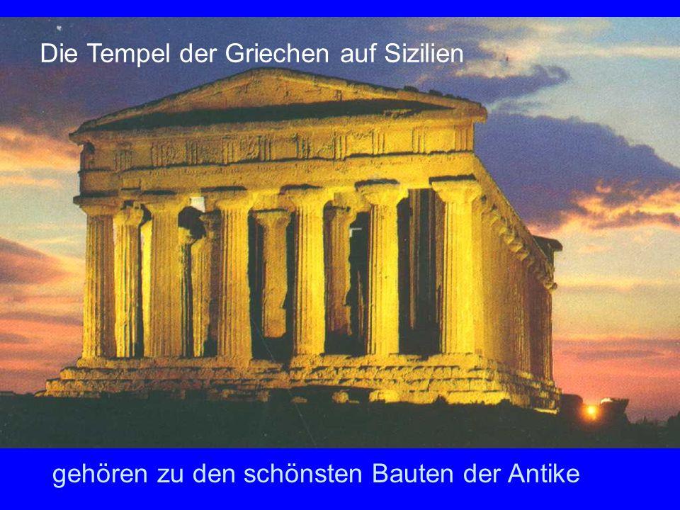 Die Tempel der Griechen auf Sizilien