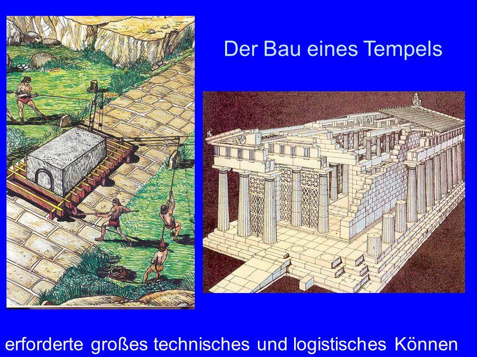 Der Bau eines Tempels