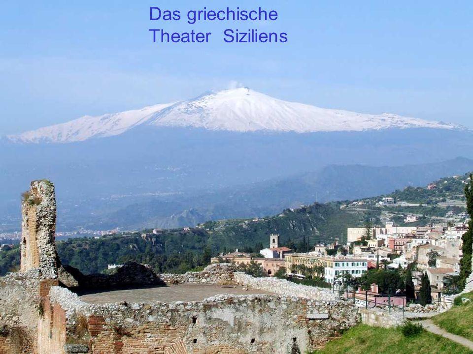 Das griechische Theater Siziliens