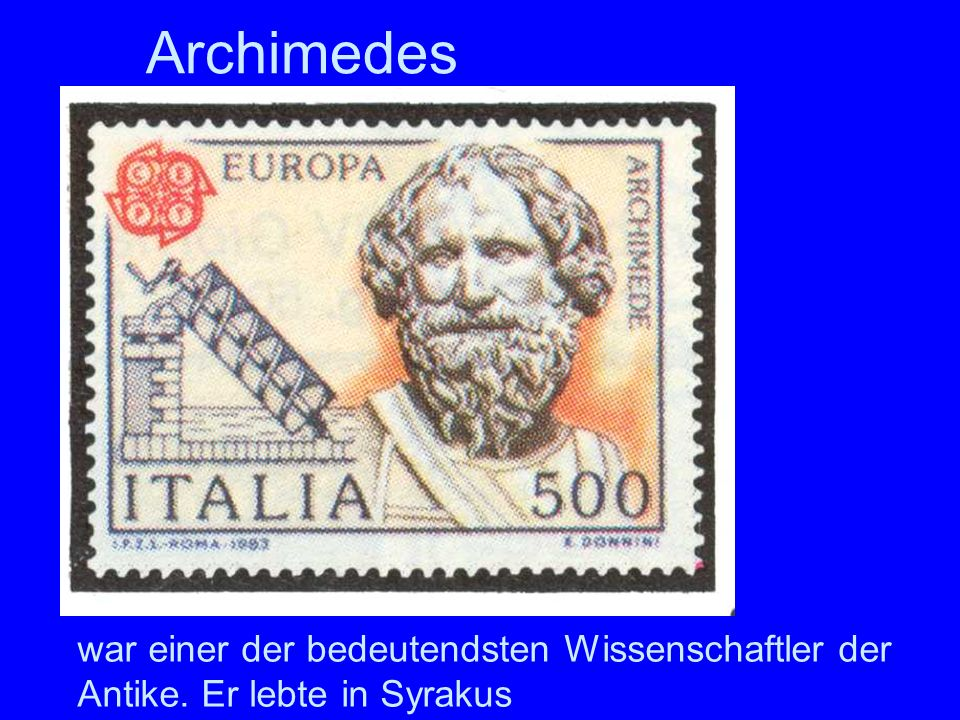 Archimedes Archimedes