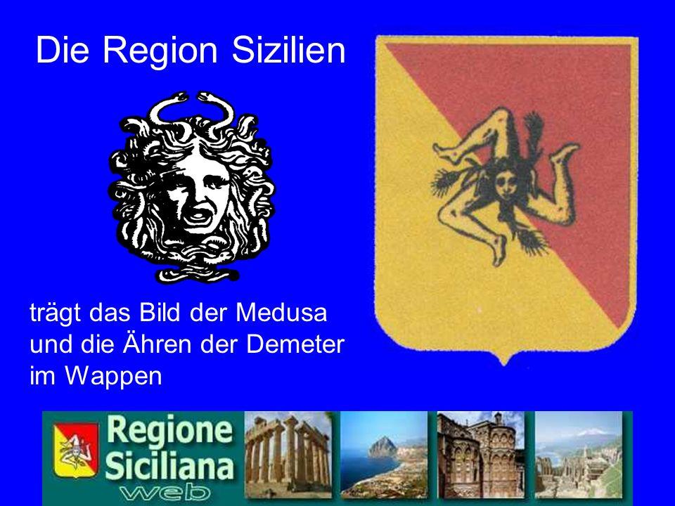 Wappen Die Region Sizilien