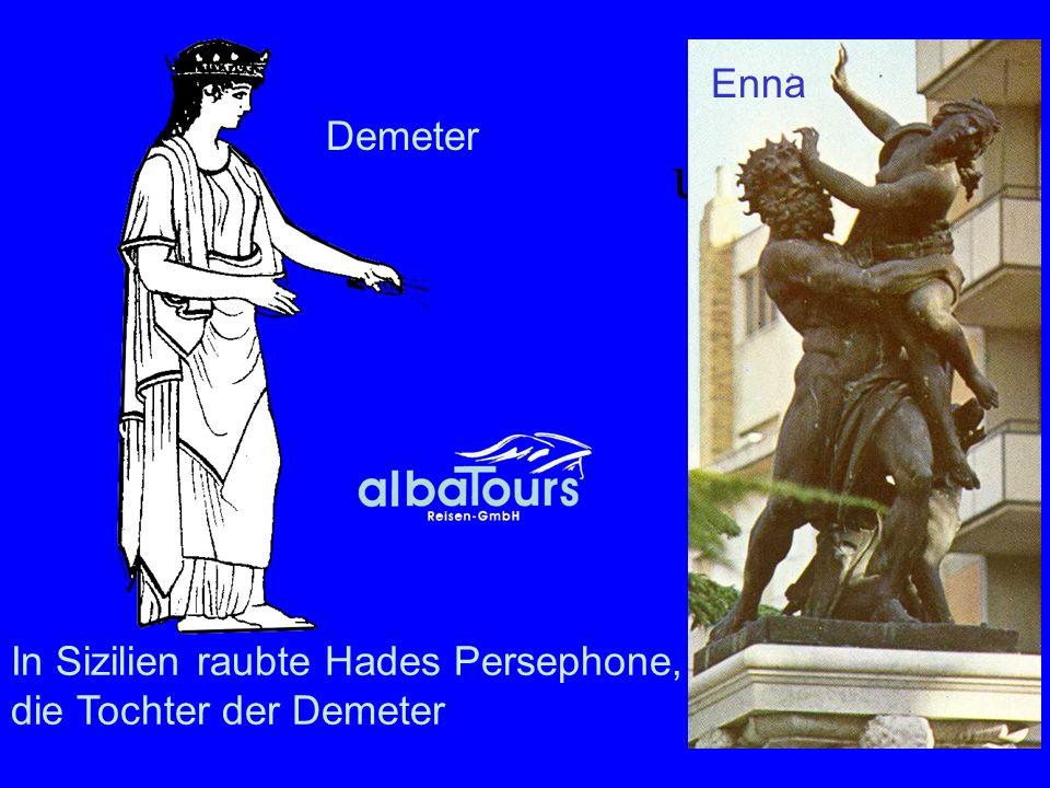 Demeter und Hades Enna Demeter