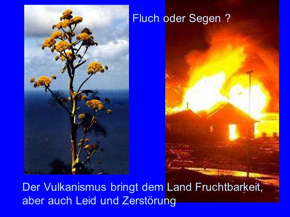 Folgen des Vulkanismus