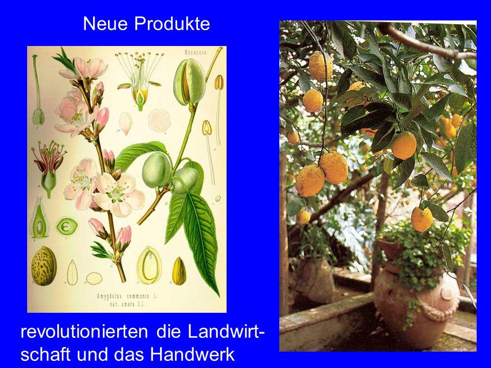 revolutionierten die Landwirt-schaft und das Handwerk