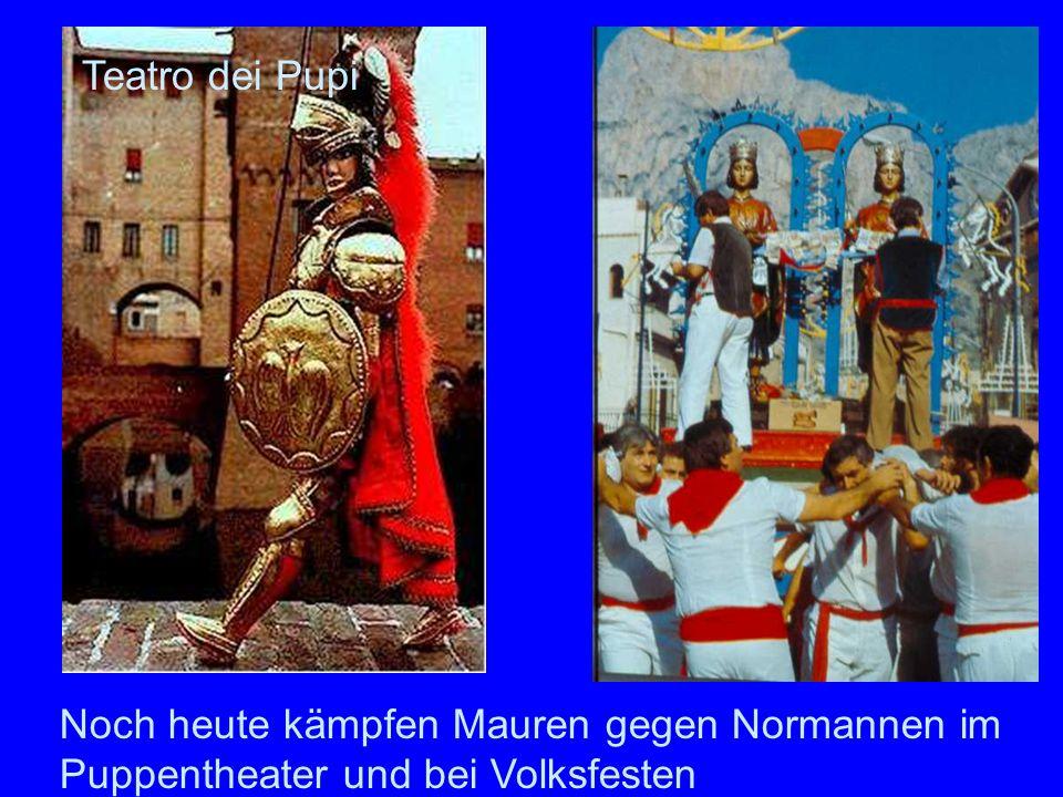 Mauren Normannen Teatro dei Pupi