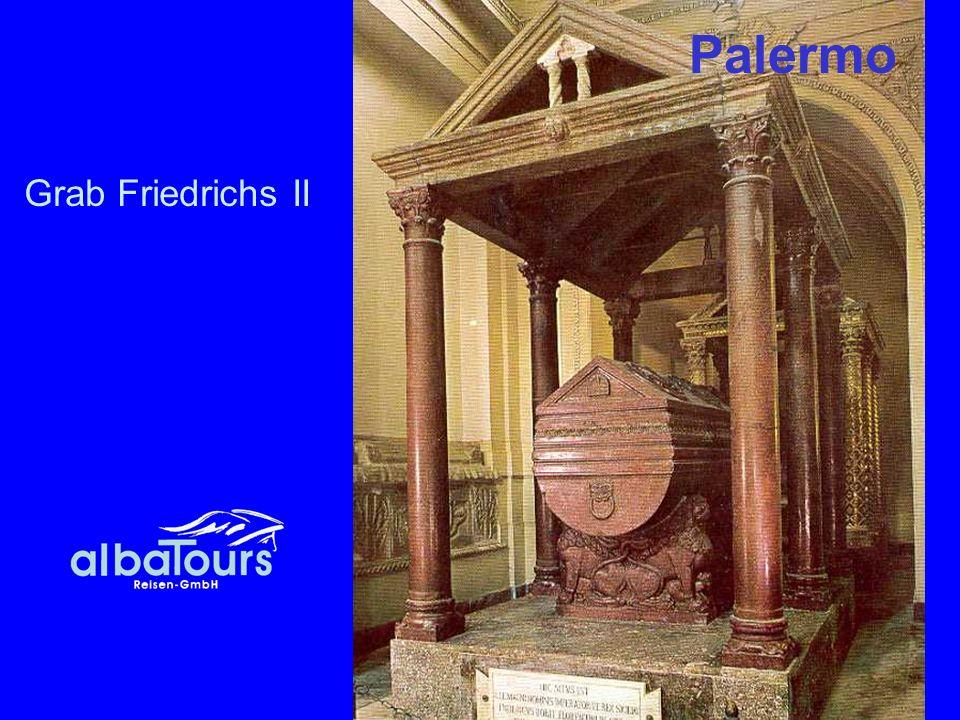 Palermo Grab Friedrichs II
