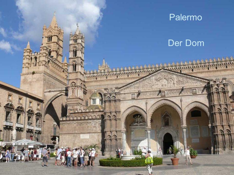 Palermo Der Dom.