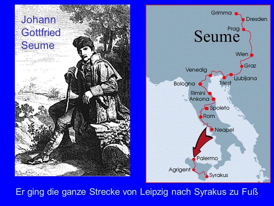 Seume Johann Gottfried Seume