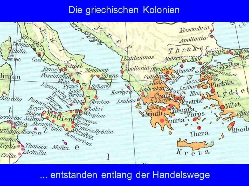 Die griechischen Kolonien