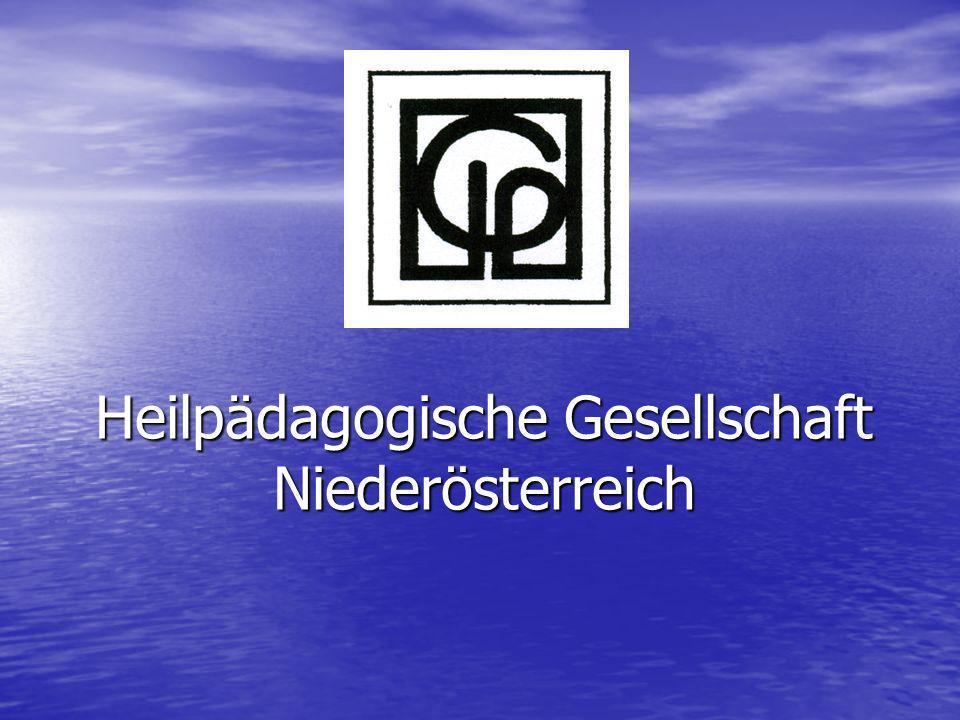 Heilpädagogische Gesellschaft Niederösterreich
