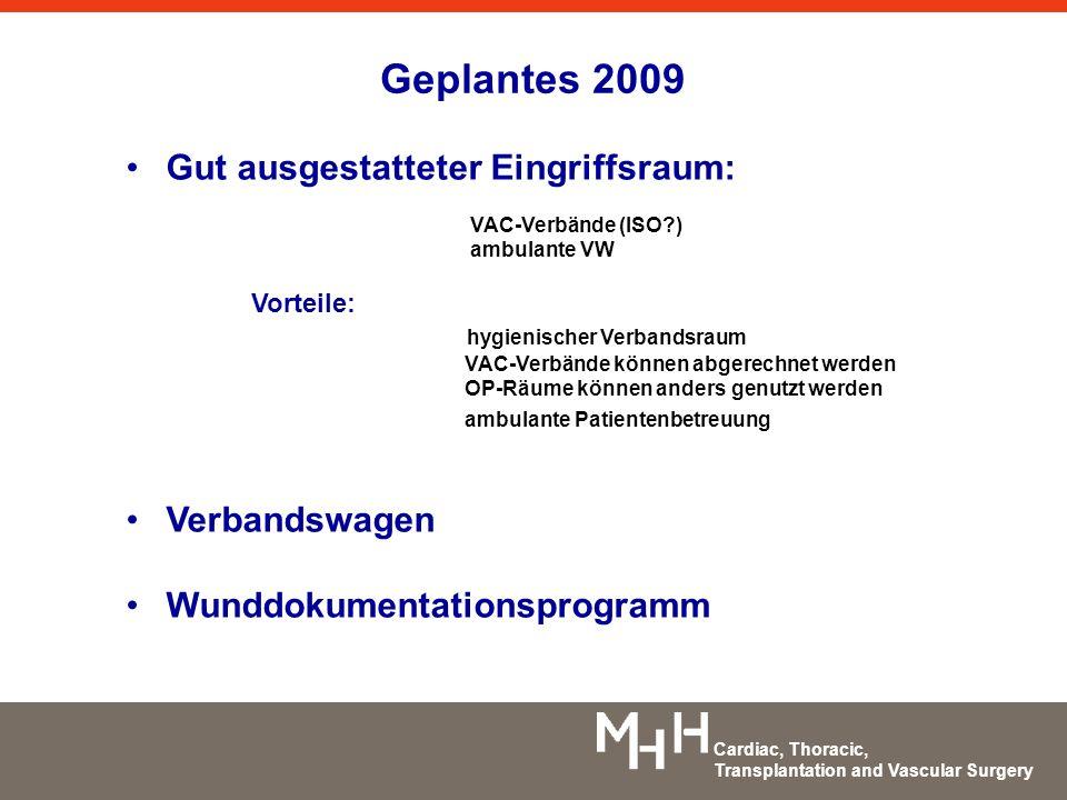 Geplantes 2009 Gut ausgestatteter Eingriffsraum: Verbandswagen