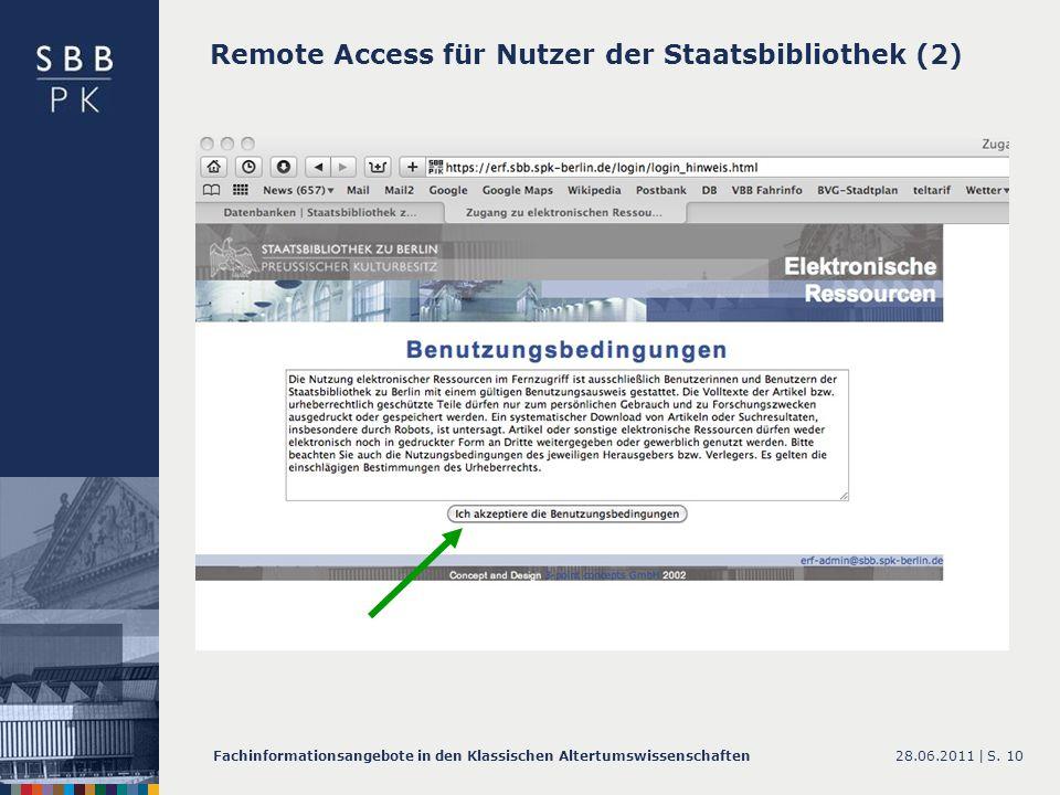 Remote Access für Nutzer der Staatsbibliothek (2)