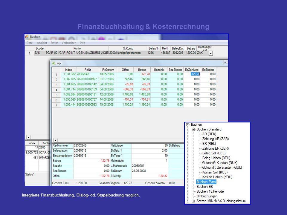 Finanzbuchhaltung & Kostenrechnung