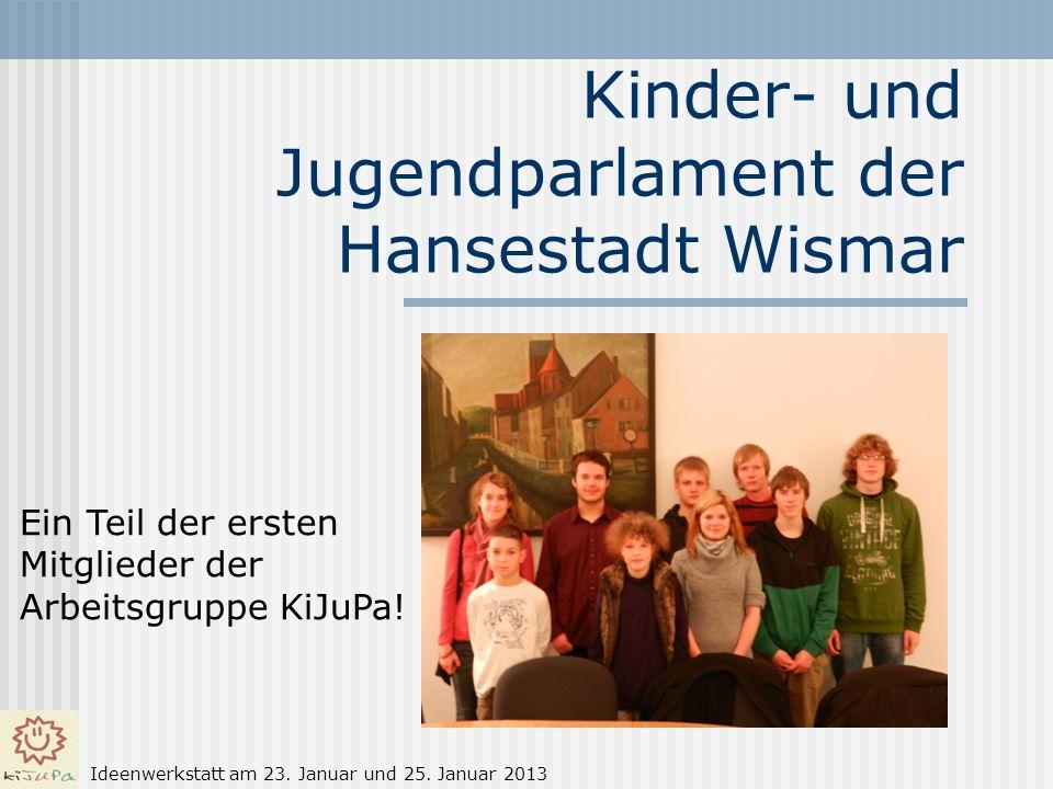 Kinder- und Jugendparlament der Hansestadt Wismar