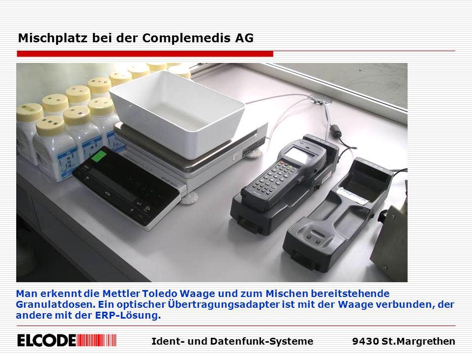 Mischplatz bei der Complemedis AG