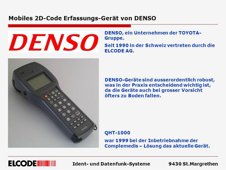 Mobiles 2D-Code Erfassungs-Gerät von DENSO