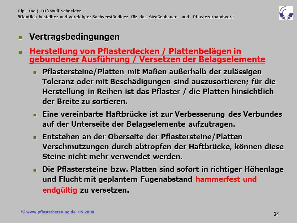 © www.pflasterberatung.de 05.2008