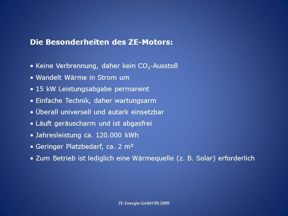 Die Besonderheiten des ZE-Motors: