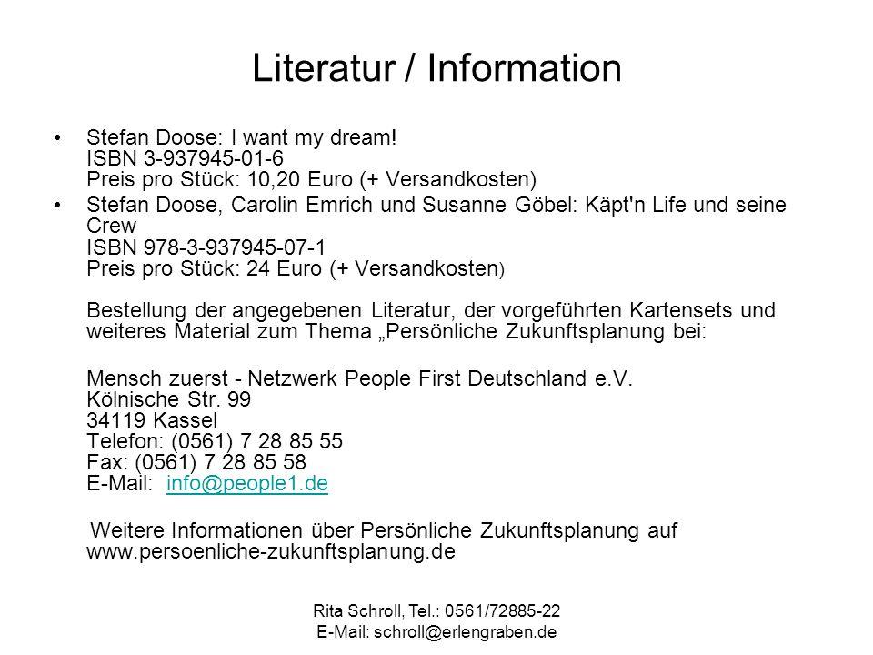 Literatur / Information