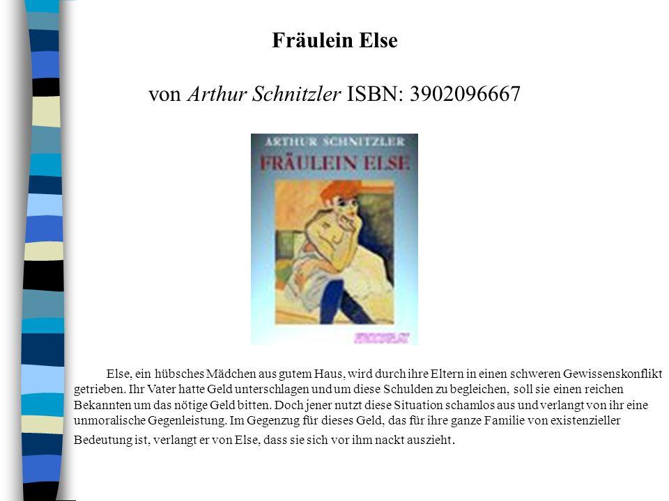 von Arthur Schnitzler ISBN: 3902096667