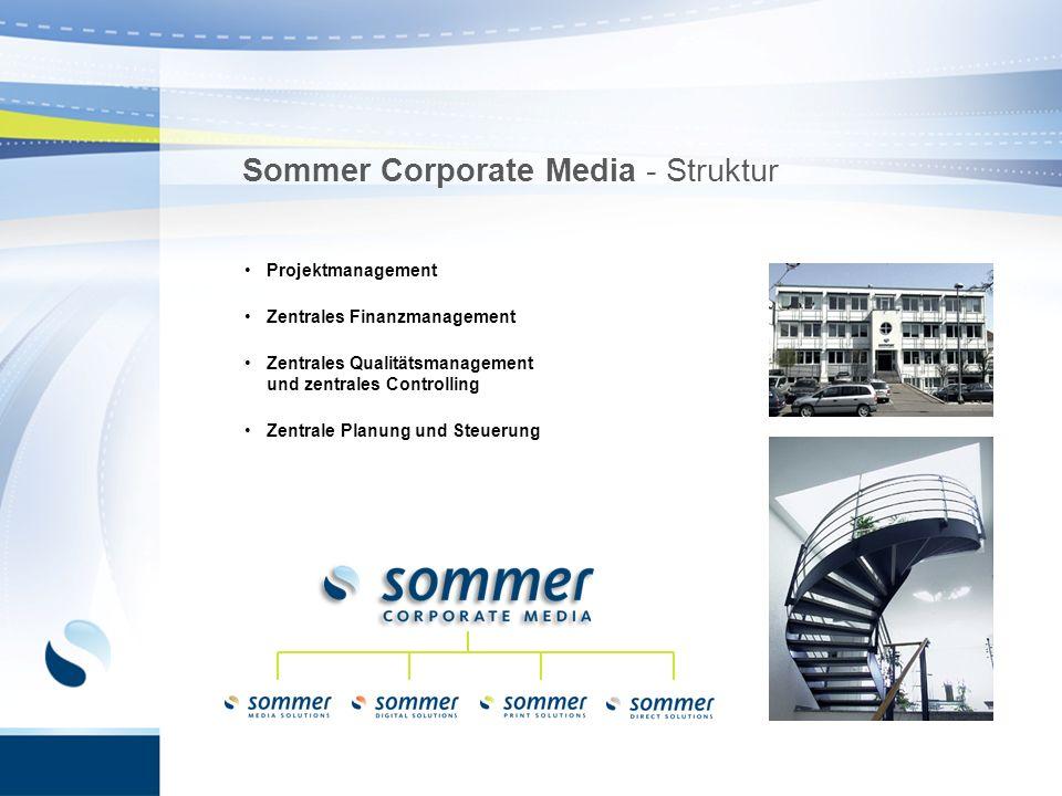 Sommer Corporate Media - Struktur