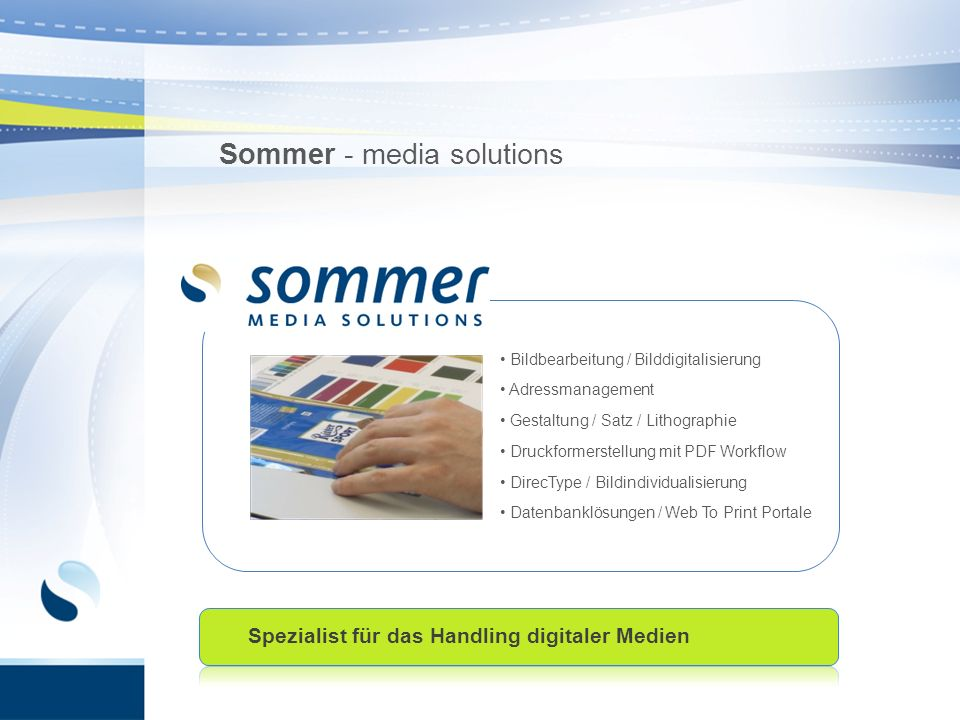 Sommer - media solutions