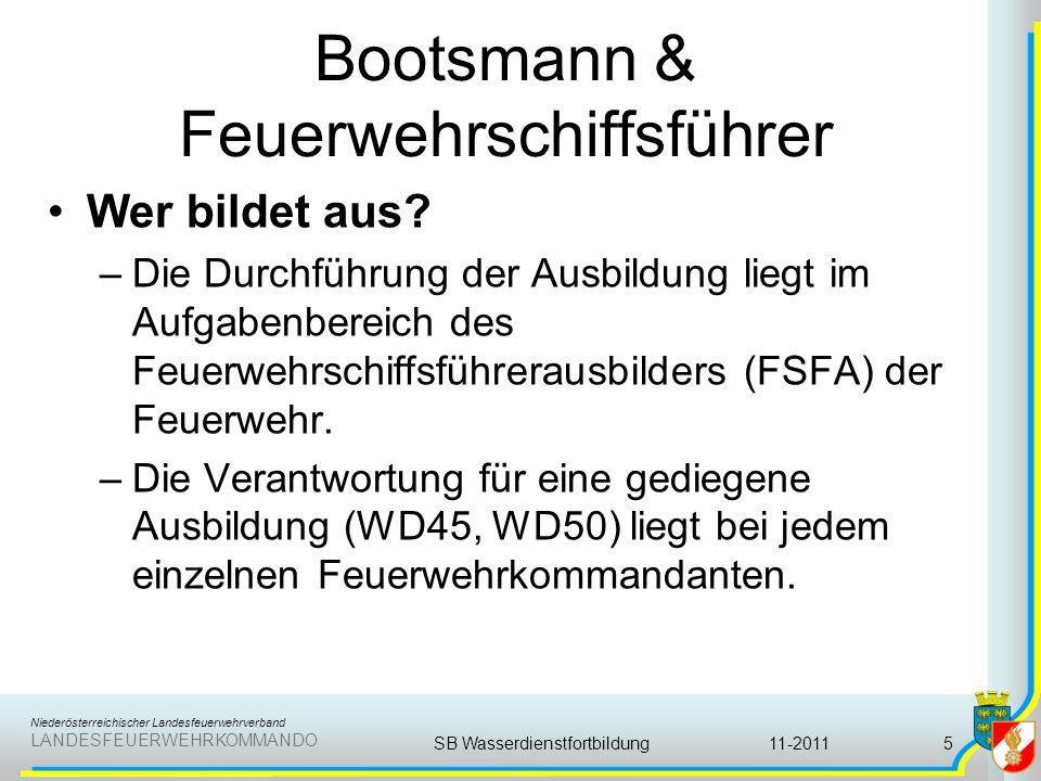 Bootsmann & Feuerwehrschiffsführer