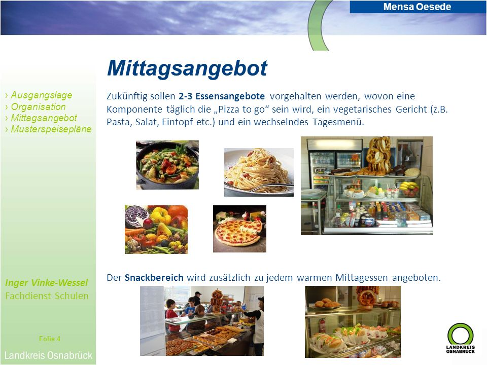 Mittagsangebot