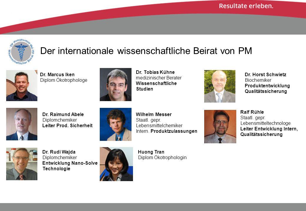Der internationale wissenschaftliche Beirat von PM