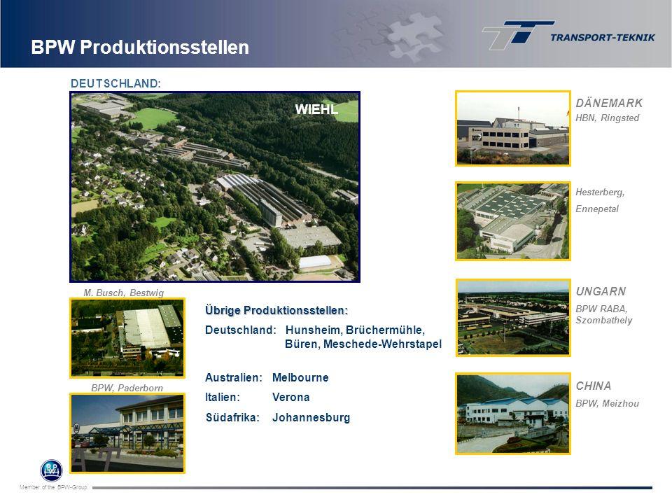 BPW Produktionsstellen