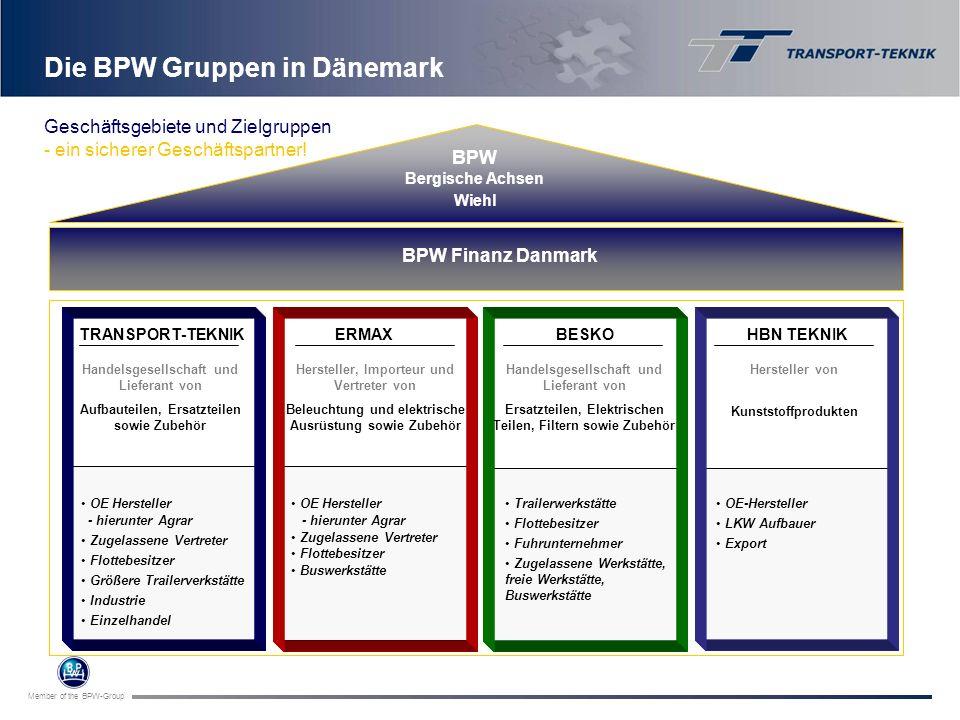 Die BPW Gruppen in Dänemark