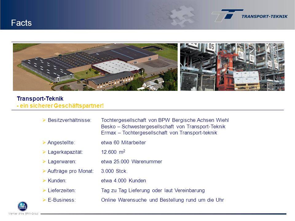 Facts Transport-Teknik - ein sicherer Geschäftspartner!