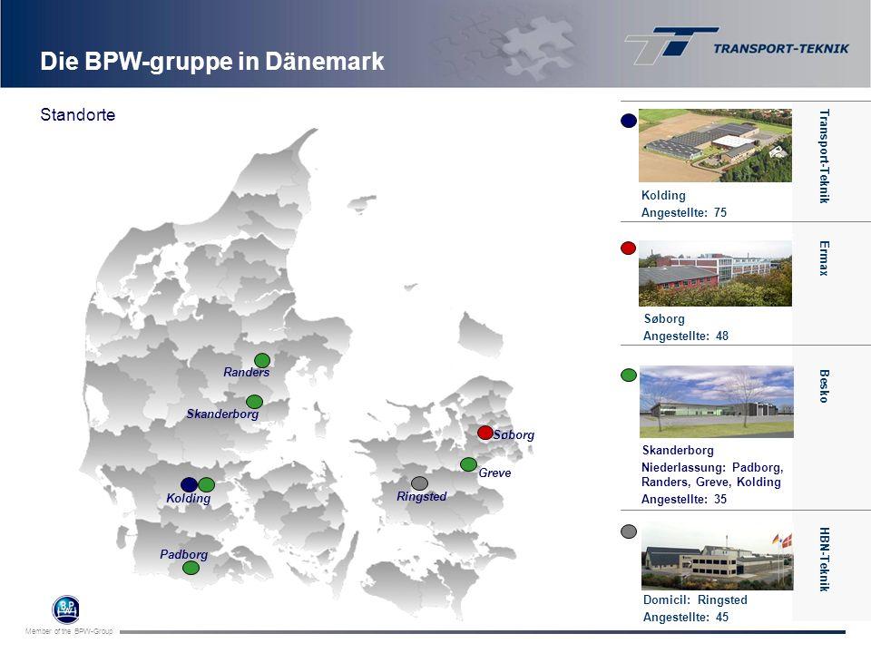 Die BPW-gruppe in Dänemark