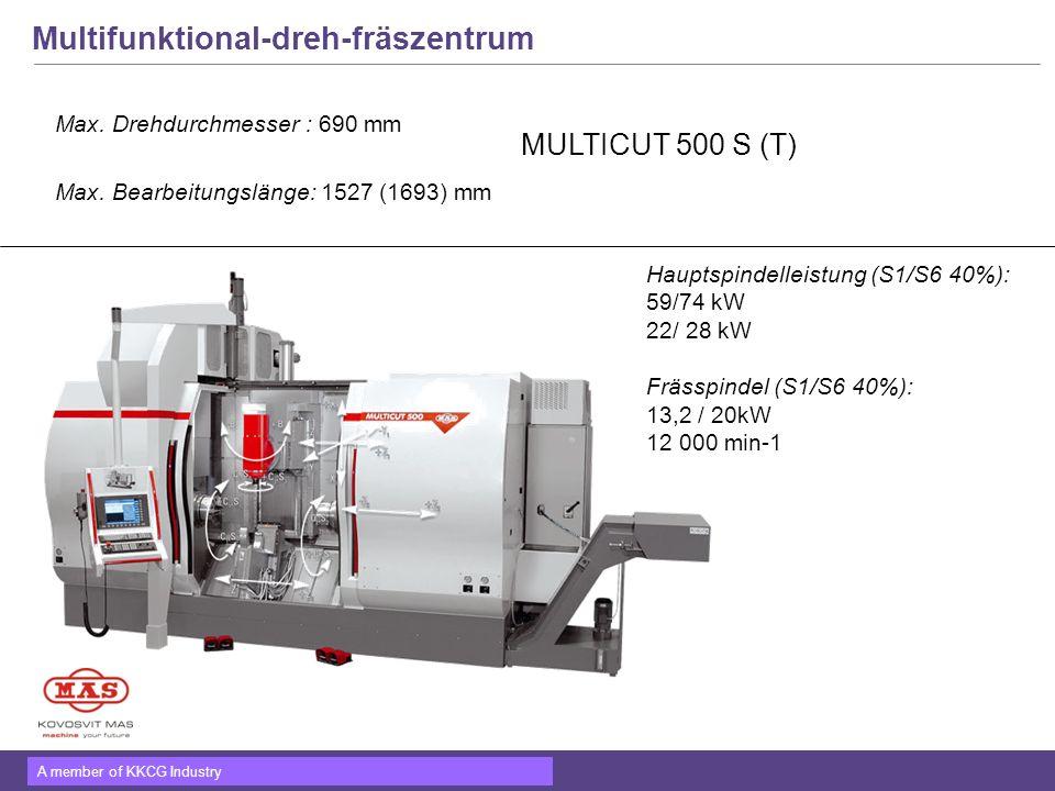 Multifunktional-dreh-fräszentrum