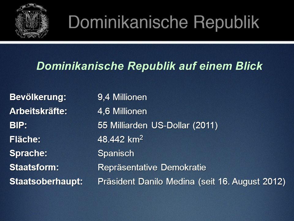 Dominikanische Republik auf einem Blick
