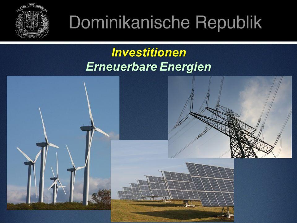Investitionen Erneuerbare Energien