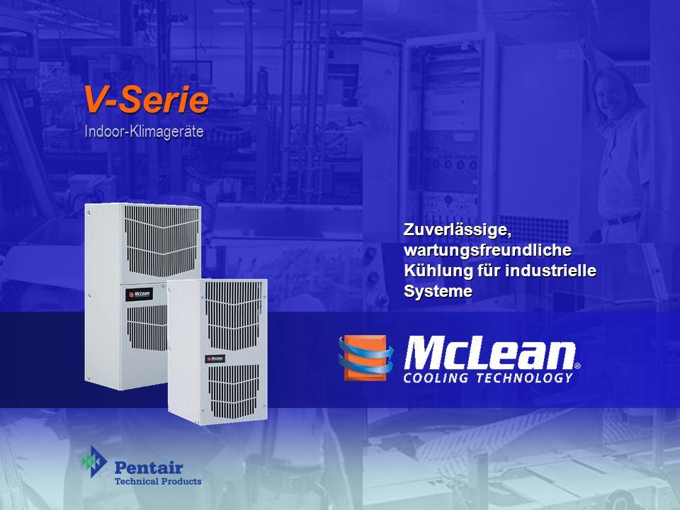 V-Serie Indoor-Klimageräte Zuverlässige, wartungsfreundliche Kühlung für industrielle Systeme