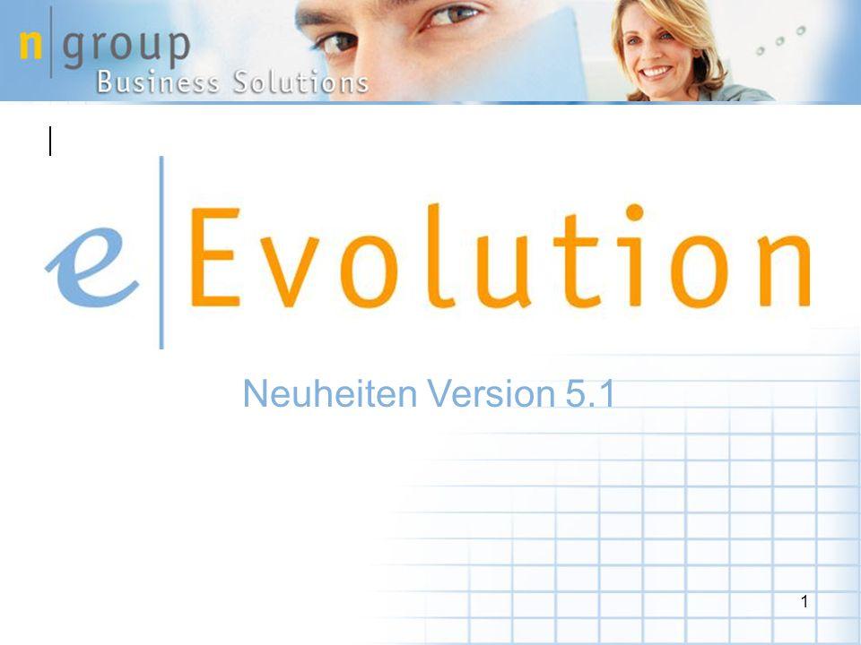 Neuheiten Version 5.1