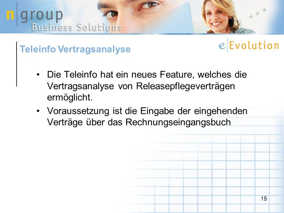 Teleinfo Vertragsanalyse