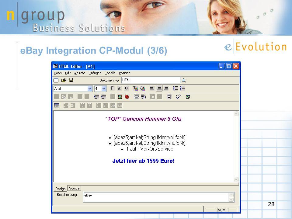 eBay Integration CP-Modul (3/6)