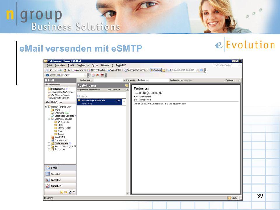 eMail versenden mit eSMTP