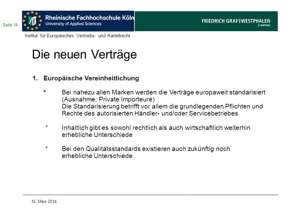 Die neuen Verträge Europäische Vereinheitlichung