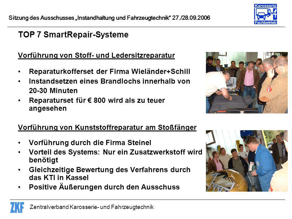 TOP 7 SmartRepair-Systeme