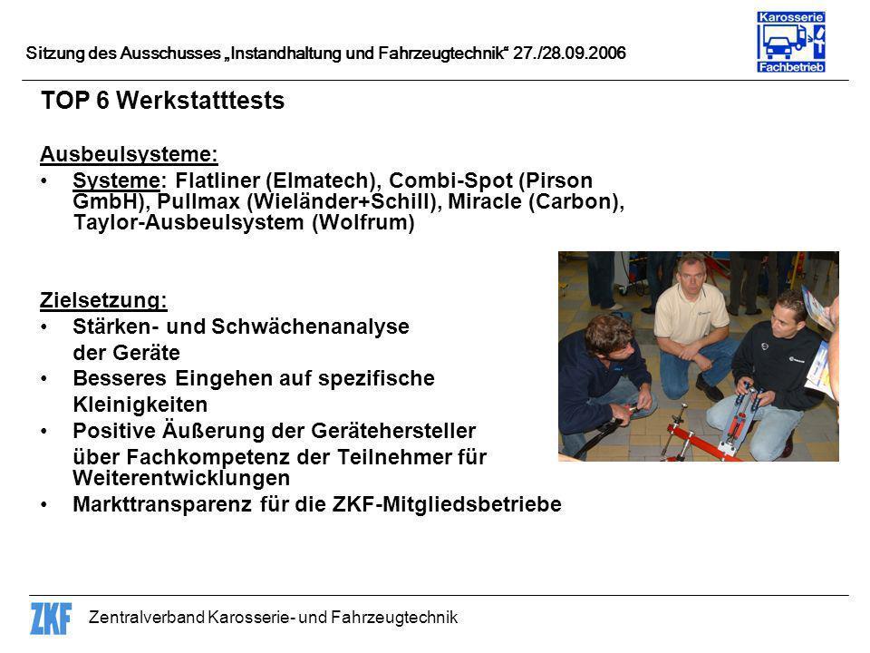 TOP 6 Werkstatttests Ausbeulsysteme: