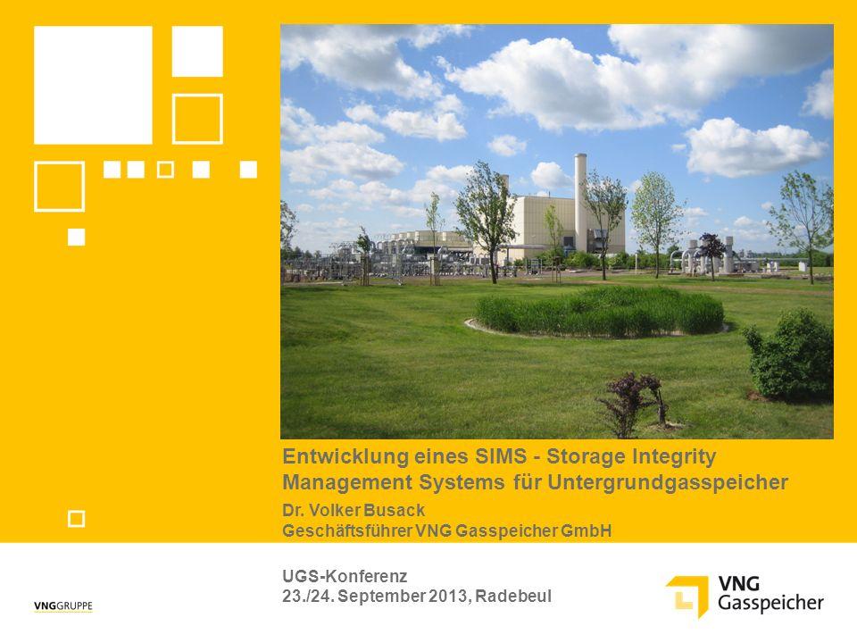 Entwicklung eines SIMS - Storage Integrity Management Systems für Untergrundgasspeicher