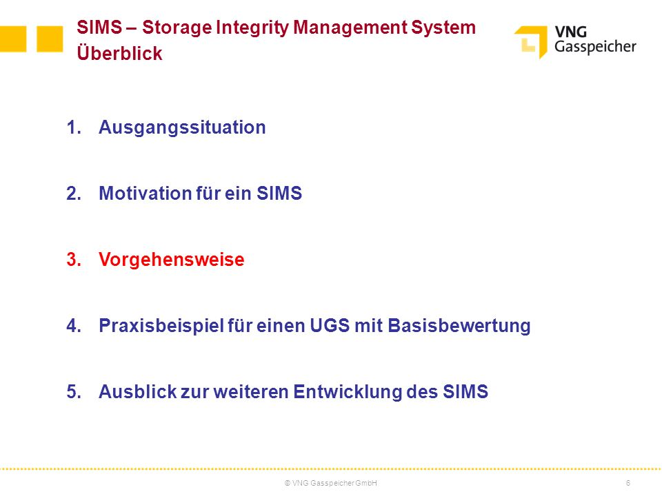 SIMS – Storage Integrity Management System Überblick